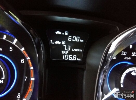 高速油耗直播:7.3l/100km