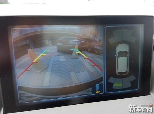 泊车影像清晰度有待加强