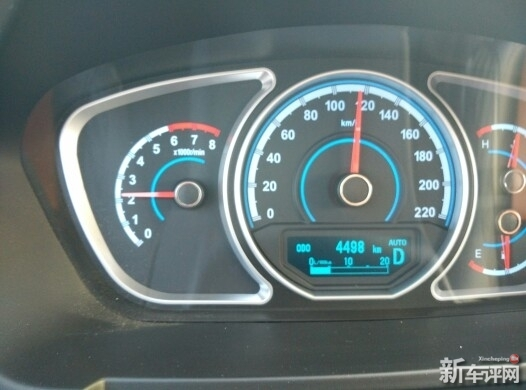 海马S7的高速巡航转速不高