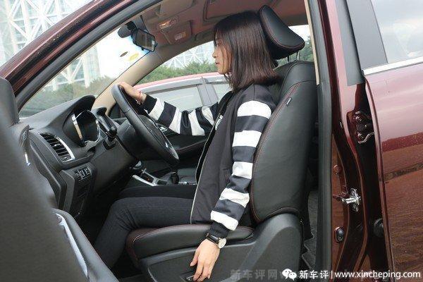 宝骏560长测(16)好开易上手,女新手司机也称赞